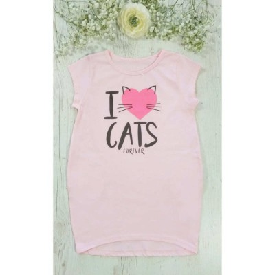 Платье I LOVE CATS