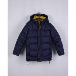 Куртка зима мал.чёрн