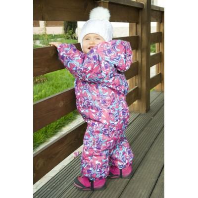 Купить Комбинезон зимний девочка от Бренда Модный Карапуз