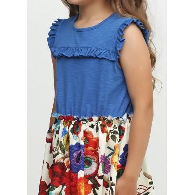 Купить Платье ЦВЕТЫ от Бренда TopHat