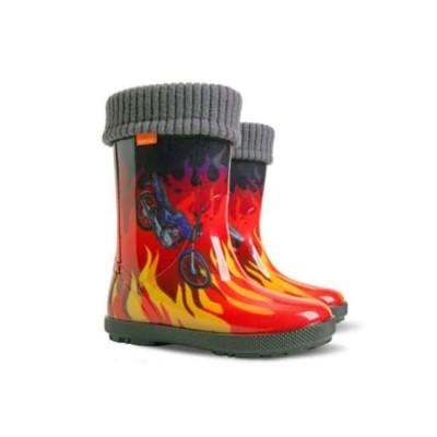 Купить Резиновые сапоги Пламя от Бренда Demar