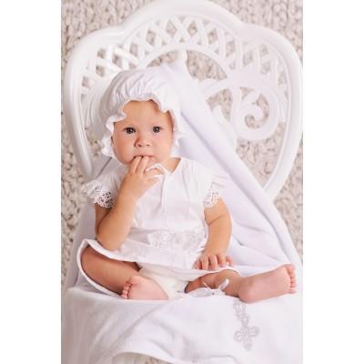 Купить Крестильный комплект для девочки от Бренда Модный Карапуз