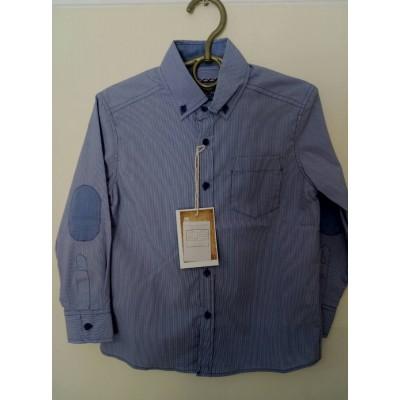 Рубашка Голубая Полоска