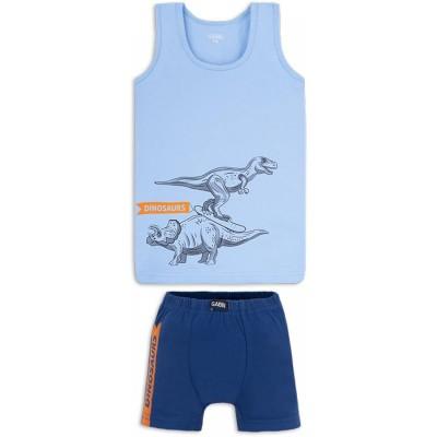 Купить Комплект белья Динозавры Голубой от Бренда Габби
