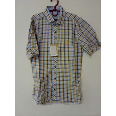 Рубашка Жёлтая Клетка