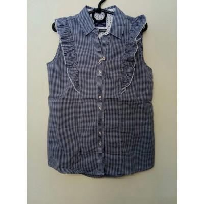 Купить Блуза-безрукавка Синяя от Бренда Bogi