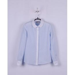 Блуза Голубая Точка