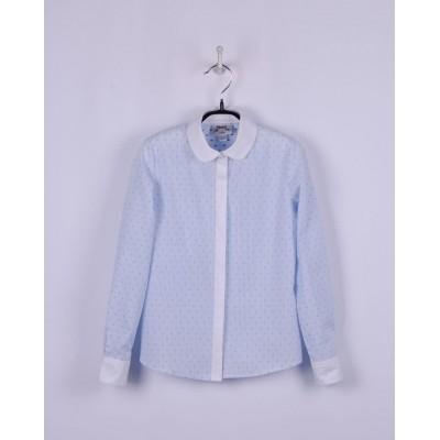 Купить Блуза Голубая Точка от Бренда Bogi