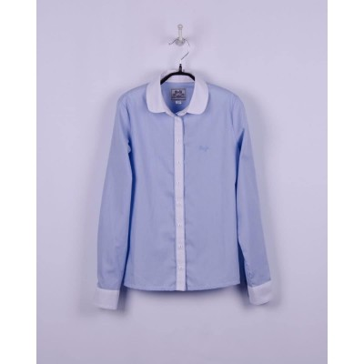 Блуза Бело-Голубая