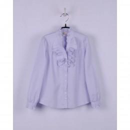 Блуза Сирень Жабо