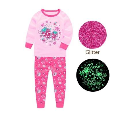 Купить Пижама для девочки Клубничка Розовая от Бренда Barbeliya