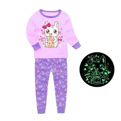 Купить Пижама для девочки Чил Сирень от Бренда Barbeliya
