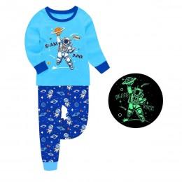 Пижама для мальчика Астронавт Синяя