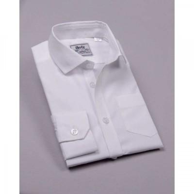 Купить Рубашка Белая длинный рукав от Бренда Bogi