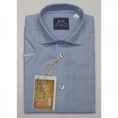 Купить Рубашка Голубая короткий рукав от Бренда Bogi