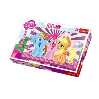 Купить Пазлы My Little Pony 100 элементов от Бренда Trefl