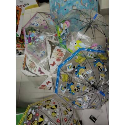 Зонтик детский Клеёнка Купол