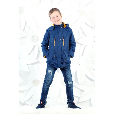 Купить Парка демисезонная Осень для мальчика от Бренда Grace