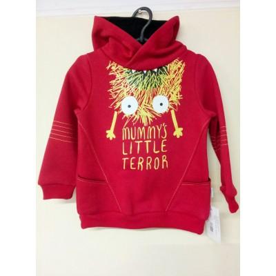Купить Худи little terror Красная от Бренда Robinzone