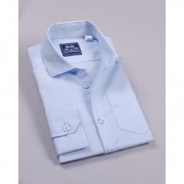 Рубашка Нежно-Голубая короткий рукав