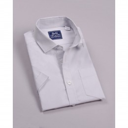 Рубашка Светло-Серая короткий рукав