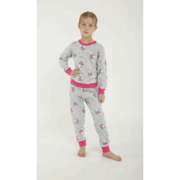 Пижама Китти Серая